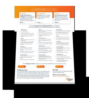 Marketing Budget Prep Checklist Preview