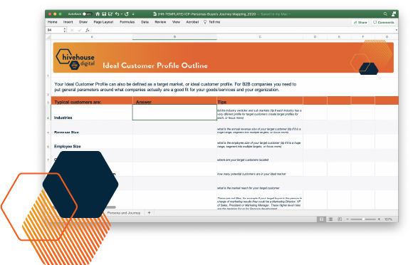 Ideal Customer Profile Template Preview